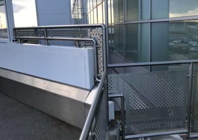 Handrail and Balustrading for Passenger walkway