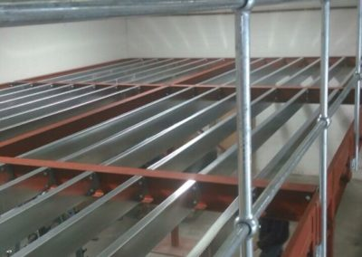 Mezz Floor under construction