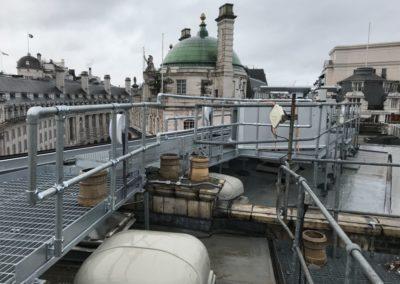 Roof top walkway London